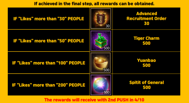 "Three Kingdoms RESIZING: Event - ""Facebook"" group open event! (corrected) image 21"