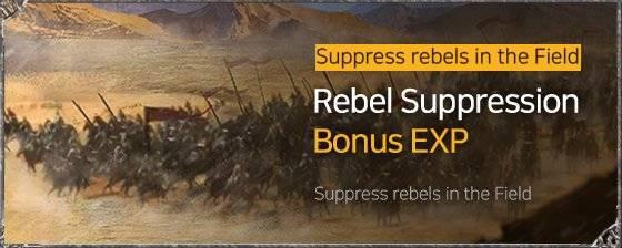 VERSUS : REALM WAR: In-Game Event - Rebel Suppression Bonus EXP Event image 3