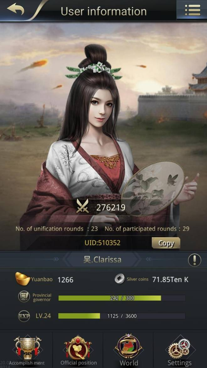 Three Kingdoms RESIZING: Limited General Board [Da Qiao], END - Clarissa / channel 5 / 510352 image 2