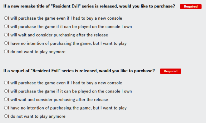 Resident Evil: General - [Take the Survey!] More Remakes to come!  image 3