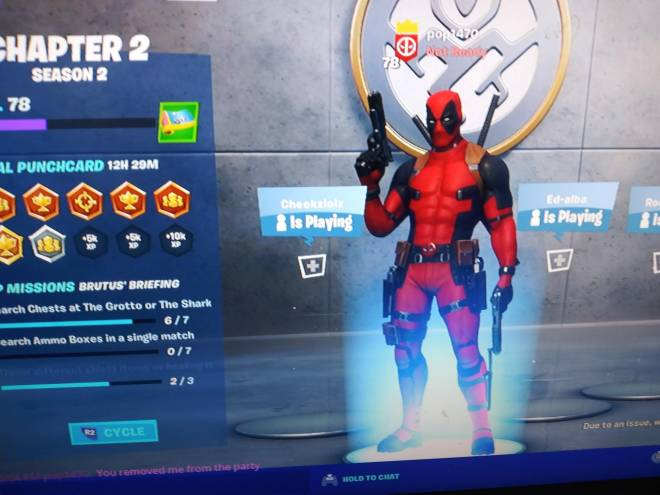 Fortnite: General - I need people to join my clan clan name is Legend Squad I need 12 people to join image 2
