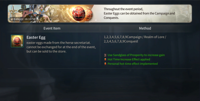 Hundred Soul: Events (Terminated) - [Event Notice] The Egg Hunter of Herse image 2