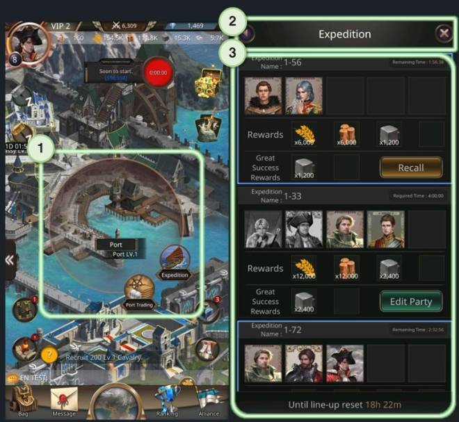 VERSUS : REALM WAR: Game Guide - ▣ Expedition  image 9