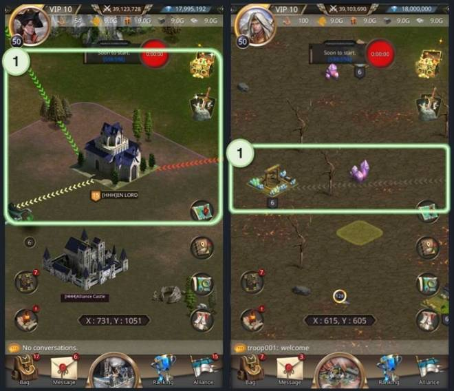 VERSUS : REALM WAR: Game Guide - ▣ Corp Navigation  image 6