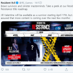 Roadmap for Resident Evil Resistance