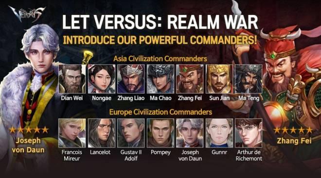 VERSUS : REALM WAR: Commander Guide - Strength Commanders image 2