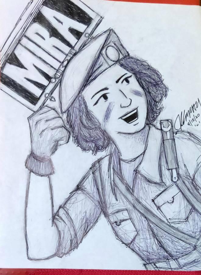 Rainbow Six: Art - Mira Elite Drawing :D image 2