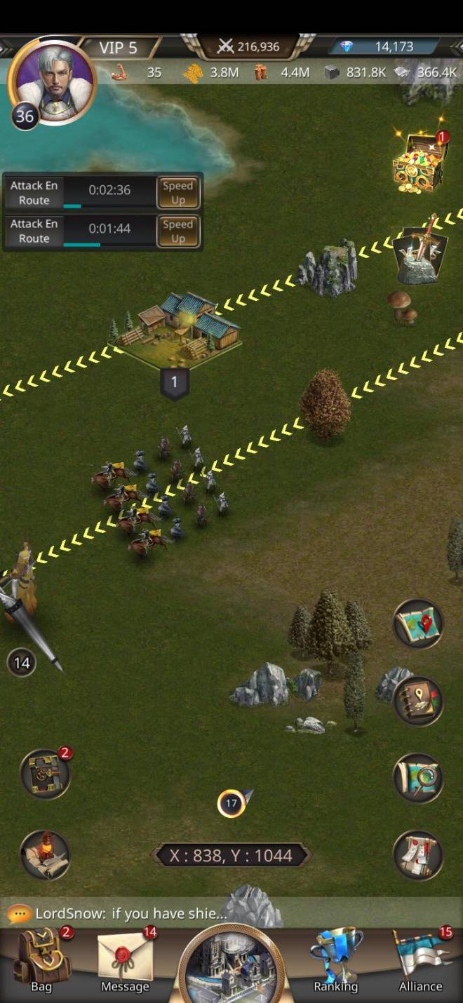 VERSUS : REALM WAR: Suggestions - About the animation of troop March (IMPORTANT) image 3