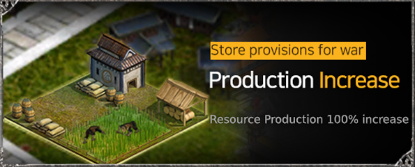 VERSUS : REALM WAR: In-Game Event - Production Increase Event image 3