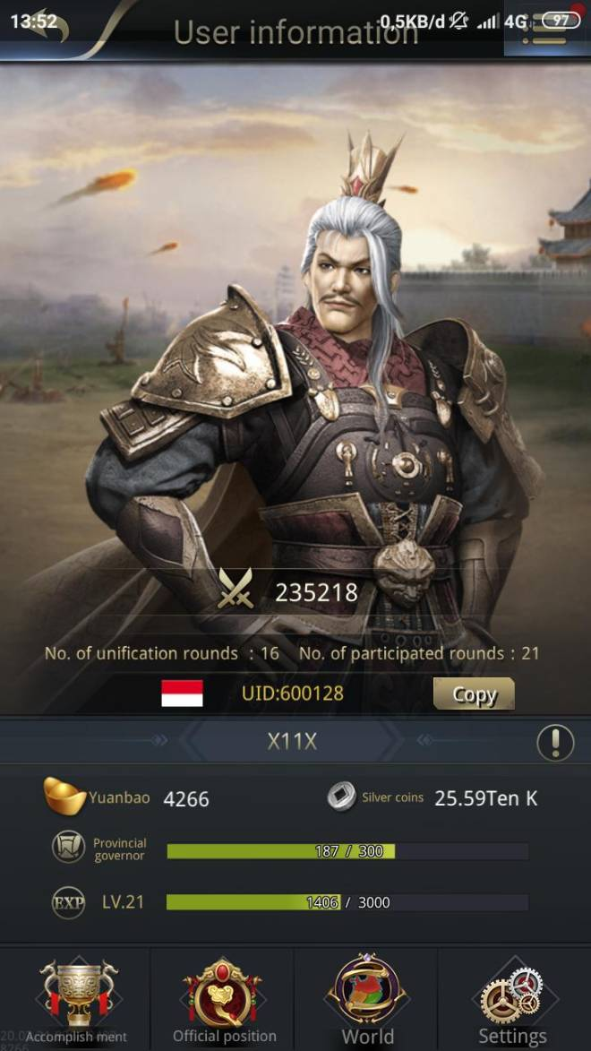 Three Kingdoms RESIZING: Limited General Board [Yuan Shao], END - Event image 2
