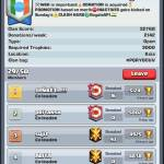 Please join my clan sis and bros and do clan war