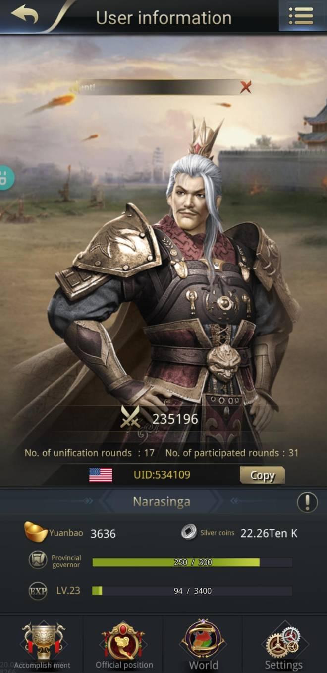Three Kingdoms RESIZING: Limited General Board [Yuan Shao], END - Narasinga / 534109 / hello lords image 1