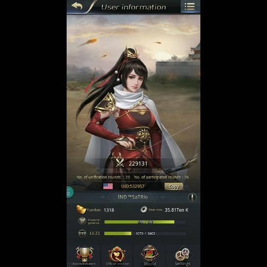 Three Kingdoms RESIZING: Limited General Board [Cao Ren], END - IND™SaTRio/532957/ Hello My Lord image 2
