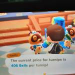 My turnip prices are 406 each