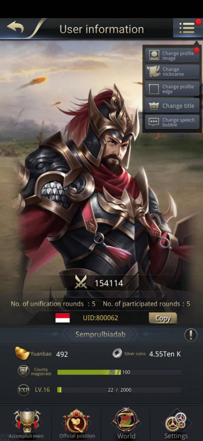 Three Kingdoms RESIZING: Limited General Board [Cao Ren], END - Semprulbiadab/800062/Hello I am Back!! image 1