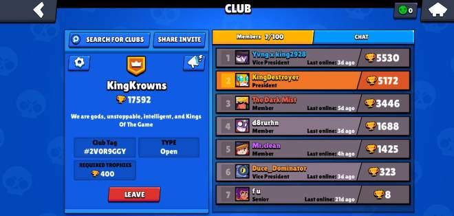 Brawl Stars: Club Recruiting - Join this new awesome club image 1