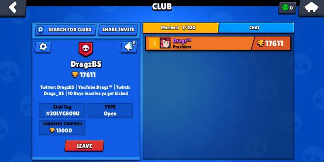 Brawl Stars: Club Recruiting - Join my club I would appreciate it!  image 1
