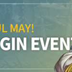 Lovely cheerful May! Special Login Event!