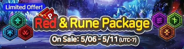 60 Seconds Hero: Idle RPG: Events - [Limited Offer] Red & Rune Package 5/06(Wed) – 5/11(Mon) image 11