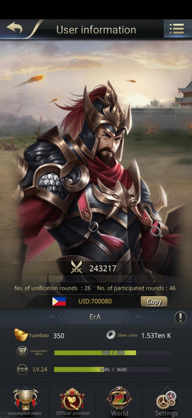 Three Kingdoms RESIZING: Limited General Board [Cao Ren], END - ErA/700080/hello my lord image 1