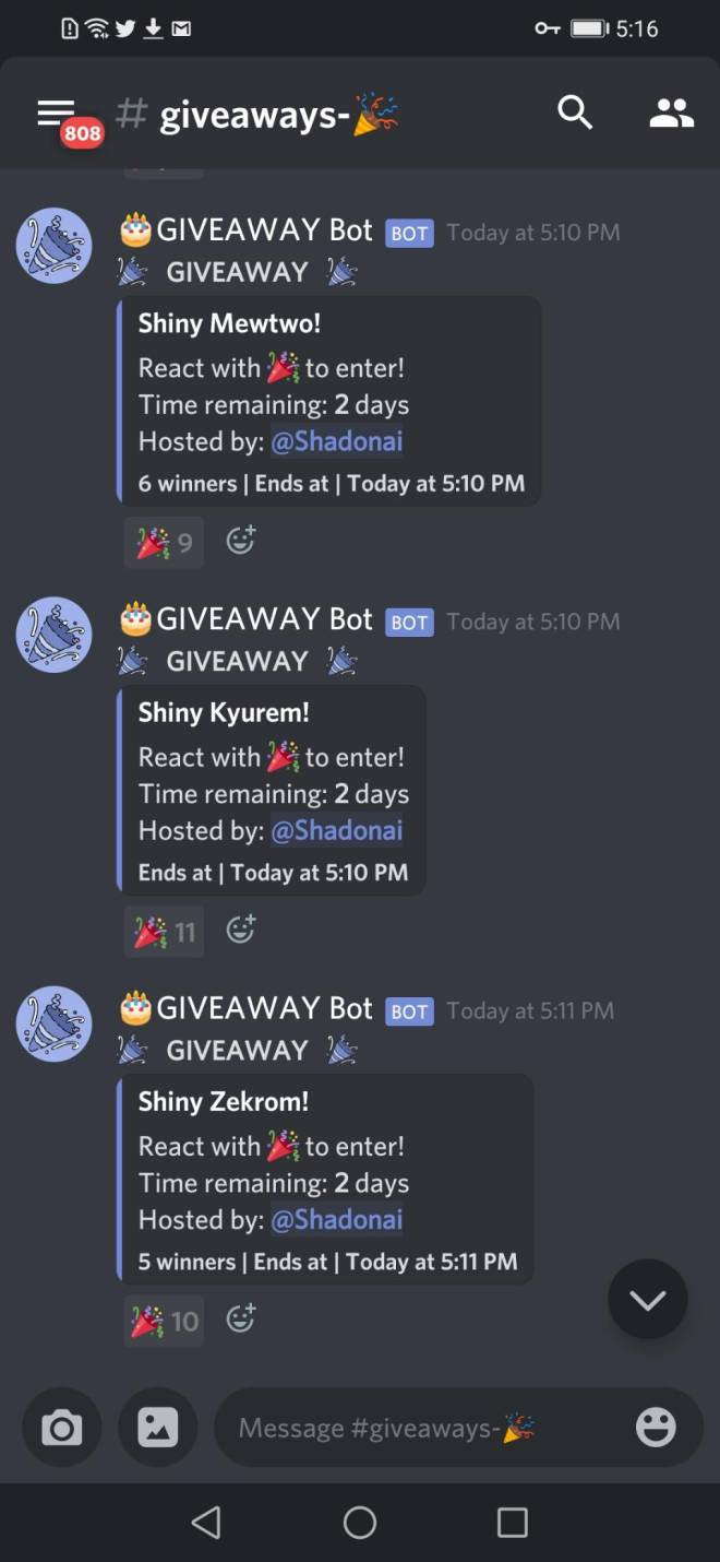 Pokemon: General - I HAVE RETURNED! (Info on two previous giveaways, and two more massive giveaways!) image 6