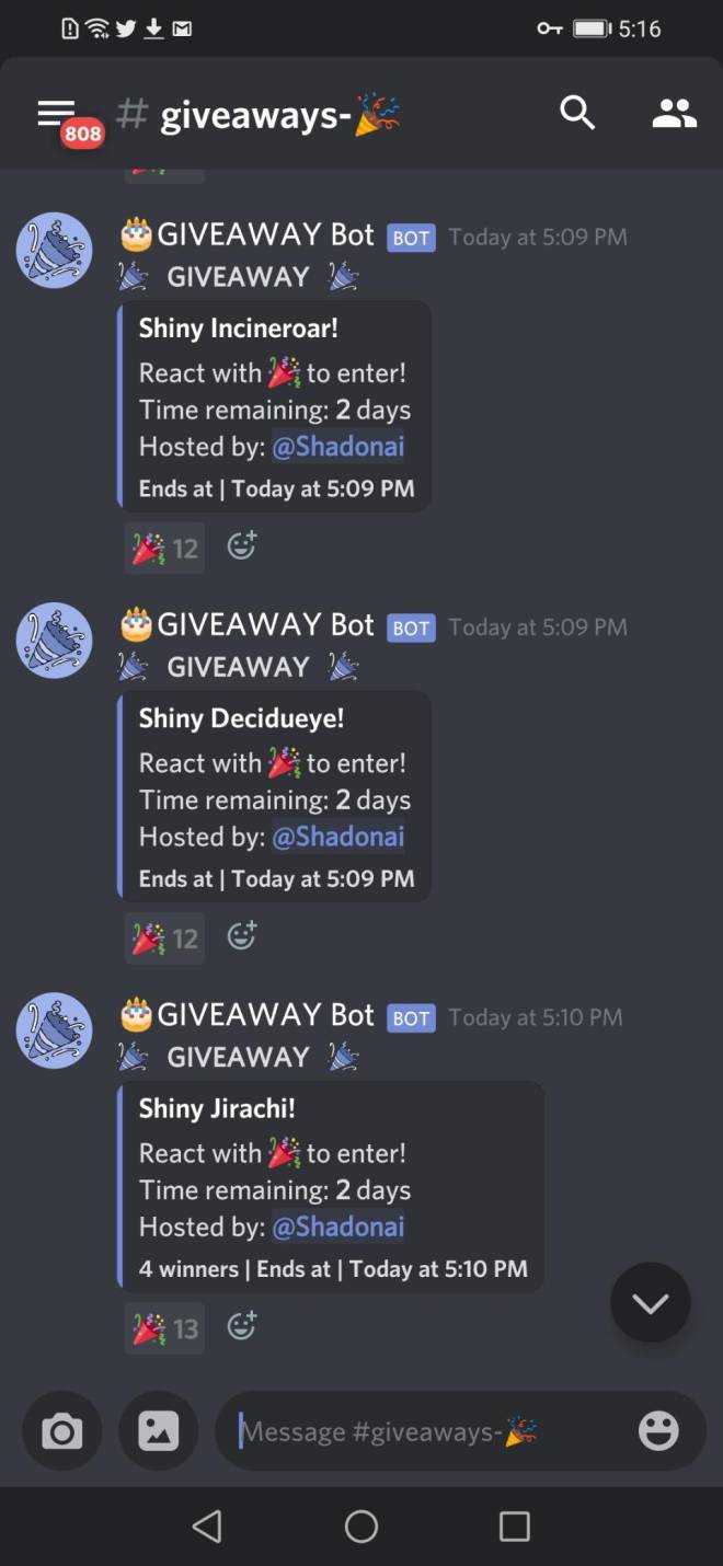 Pokemon: General - I HAVE RETURNED! (Info on two previous giveaways, and two more massive giveaways!) image 7