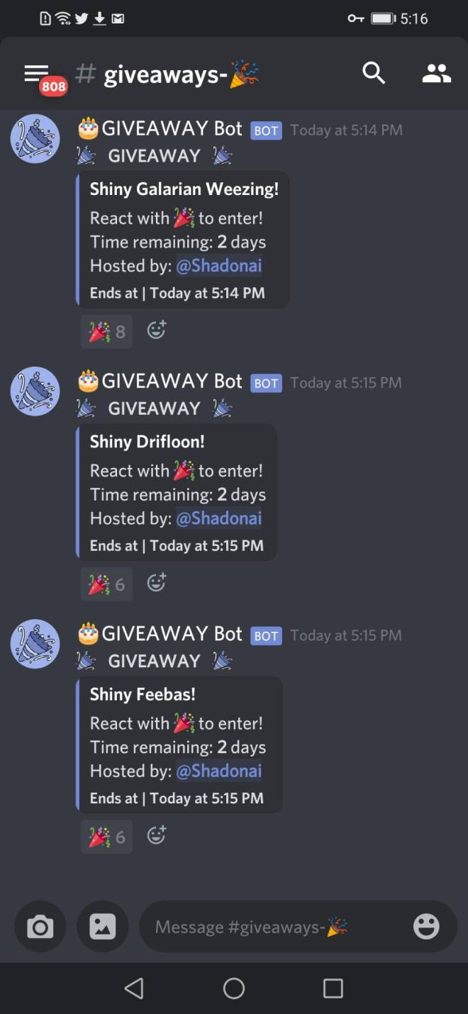 Pokemon: General - I HAVE RETURNED! (Info on two previous giveaways, and two more massive giveaways!) image 3
