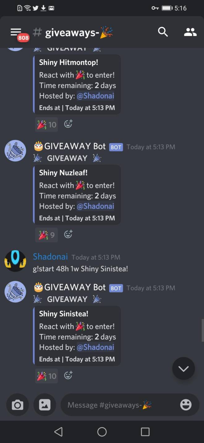 Pokemon: General - I HAVE RETURNED! (Info on two previous giveaways, and two more massive giveaways!) image 5