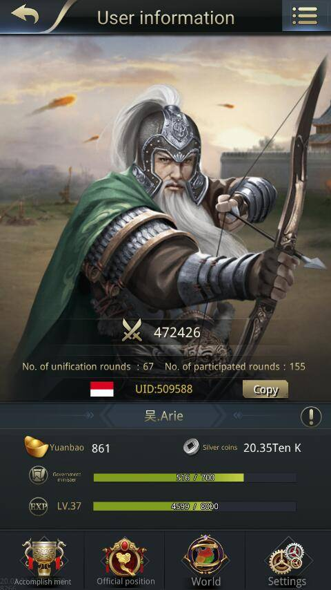 Three Kingdoms RESIZING: Limited General Board [Huang Zhong], END - 吴.Arie / 509588 / Hello there~ image 1