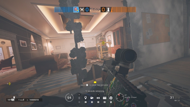 Rainbow Six: Guides - Guide to playing 'Fuze' in 'Bank' image 16
