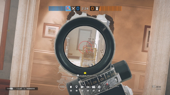 Rainbow Six: Guides - Guide to playing 'Fuze' in 'Bank' image 26