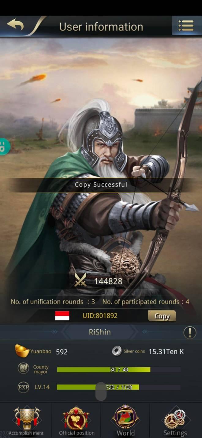 Three Kingdoms RESIZING: Limited General Board [Huang Zhong], END - I got This General image 1