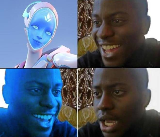 Overwatch: Memes - When the enemy is playing echo image 2