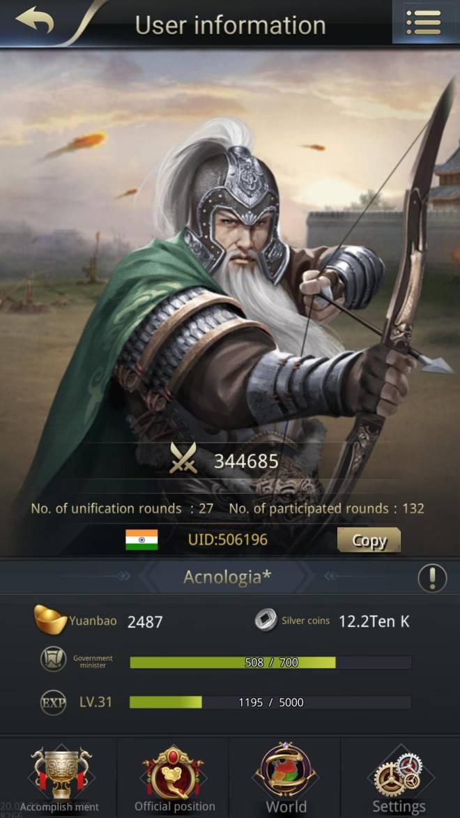 Three Kingdoms RESIZING: Limited General Board [Huang Zhong], END - Winner  image 1