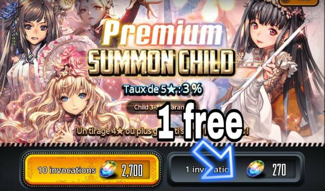 DESTINY CHILD: FORUM - 1 free summon - Today and yesterday 🤔 image 2