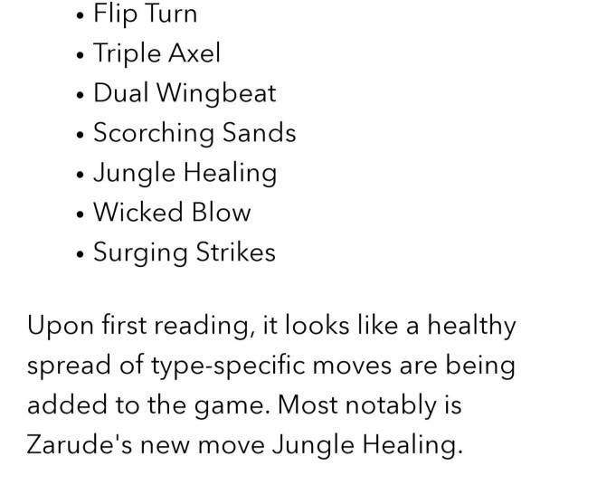 Pokemon: General - Isle of Armor Info #1: 21 NEW Moves??? image 5