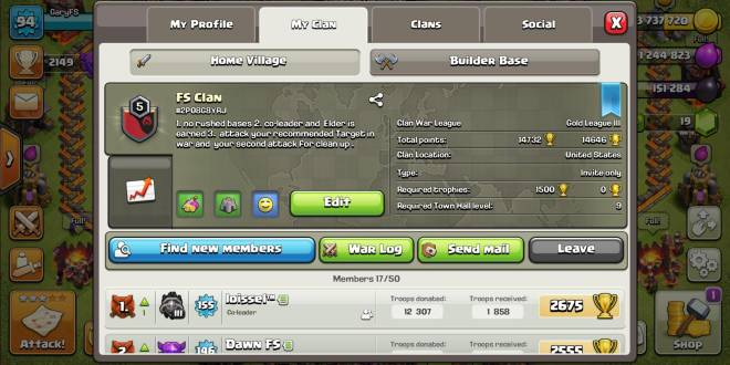 Clash of Clans: General -  looking for players image 2