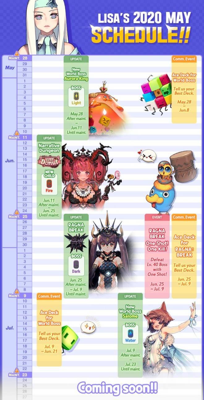 DESTINY CHILD: PAST NEWS - [NOTICE] Lisa's Upcoming Schedule Calendar image 3