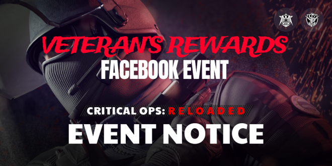 ENG Critical Ops: Reloaded: Announcements - Important Notice regarding the Veteran's Rewards image 9