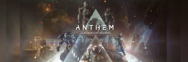 Anthem: General - The Mighty Legion of Dawn image 1