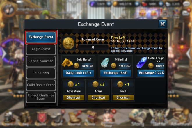 Ceres M: ★ events - Ceres M Exchange Event!  image 2