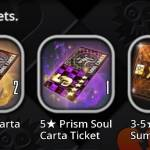 I was saving those tickets for the soul carta we voted for or against :D