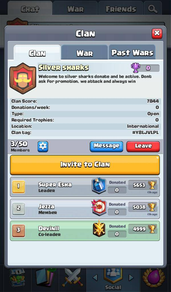 Q&A: Question - JOIN MY CLAN AND HELP GROW It image 2