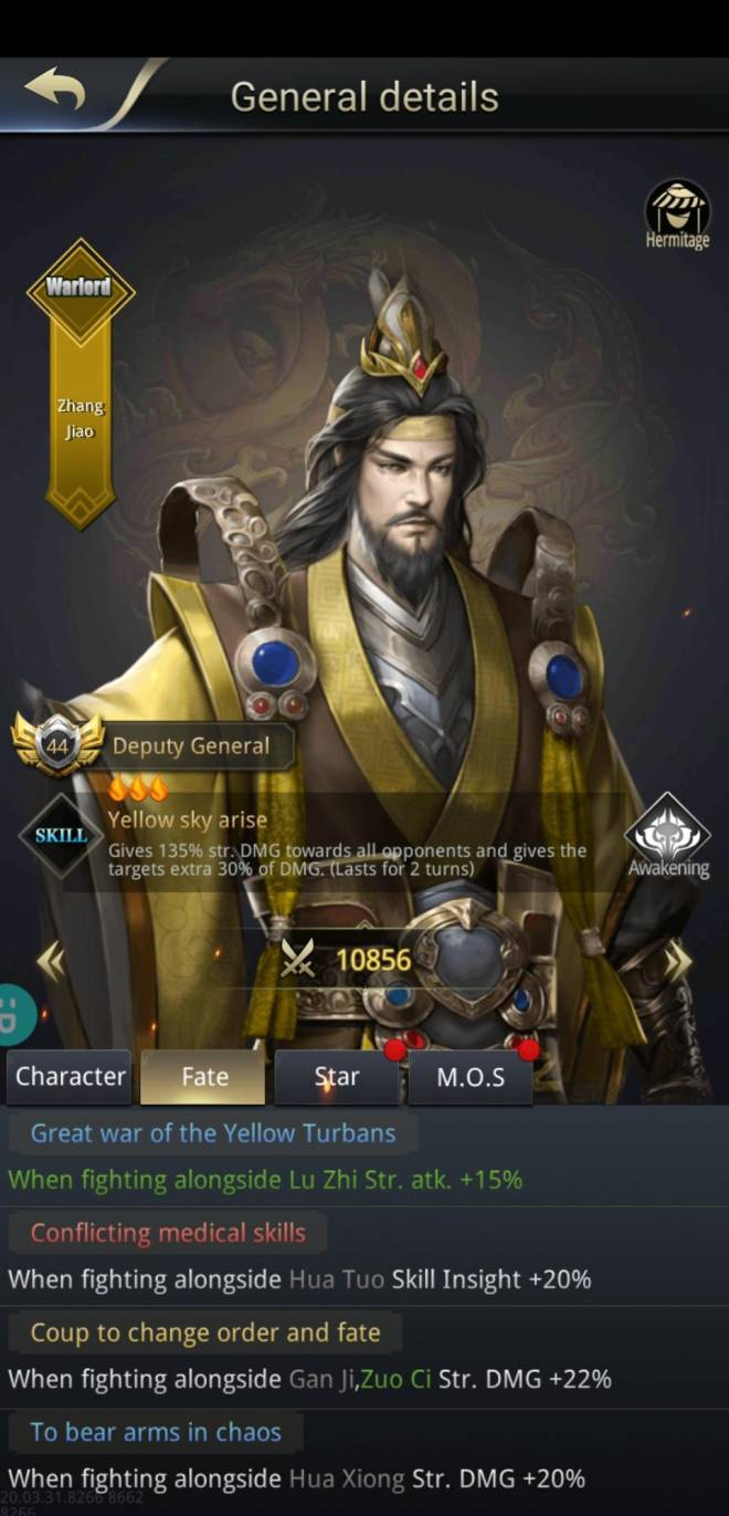 Three Kingdoms RESIZING: Q&A - Fate counting Zuo Ci & Zhang Jiao image 4
