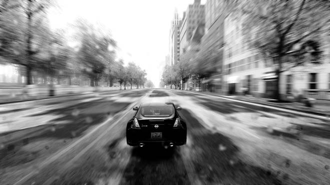 The Crew: General - Black and white image 1