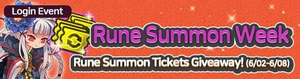 60 Seconds Hero: Idle RPG: Events - [Event] Rune Summon Week 6/02(Tue) – 6/08(Mon) (UTC-7) image 1