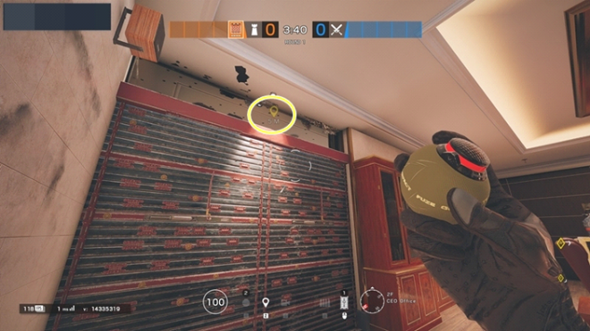 Rainbow Six: Guides - Guide to playing 'Castle' in 'Bank' image 14