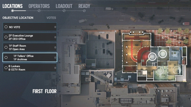 Rainbow Six: Guides - Guide to playing 'Castle' in 'Bank' image 2