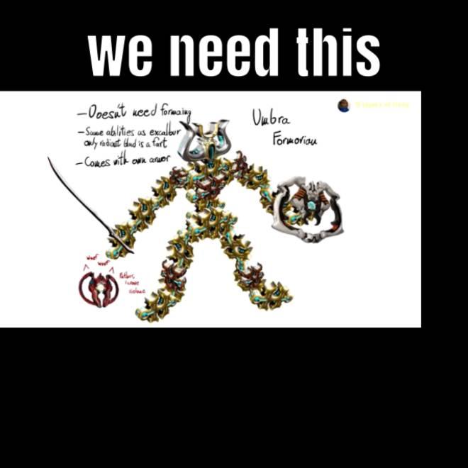 Warframe: General - We need this DE image 1