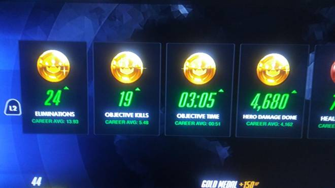 Overwatch: General - 4 gold medals image 2